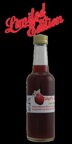 <p>Walderdbeeren, eine &bdquo;limited Edition&ldquo; aus unserer Sirup-K&uuml;che. Der Genuss von wilder Erdbeere in einem naturtr&uuml;ben Erdbeerrot ist himmlisch aber sehr rar und auch nur in geringer Menge zu erhalten. Wir bieten diesen seltenen Sirup in 2.5 dl Schraubverschluss-Flaschen an.</p>