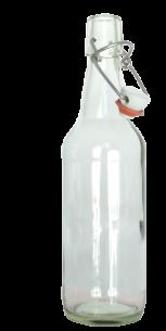 <p><strong>&frac12; Liter Klarglasflasche mit B&uuml;gelverschluss !</strong><br />Universell einsetzbar und&nbsp;exklusiv in der Form<br /><br />Abmessungen:<br />H&ouml;he in mm: 255.0<br />Durchmesser in mm: 69.6<br />Gewicht in g: 390<br />F&uuml;llvolumen in cl 50<br />Farbe: Klarglas<br />Lieferung INKLUSIVE B&uuml;gelverschluss <br /><br />Lieferzeit: Vorr&auml;tig</p>